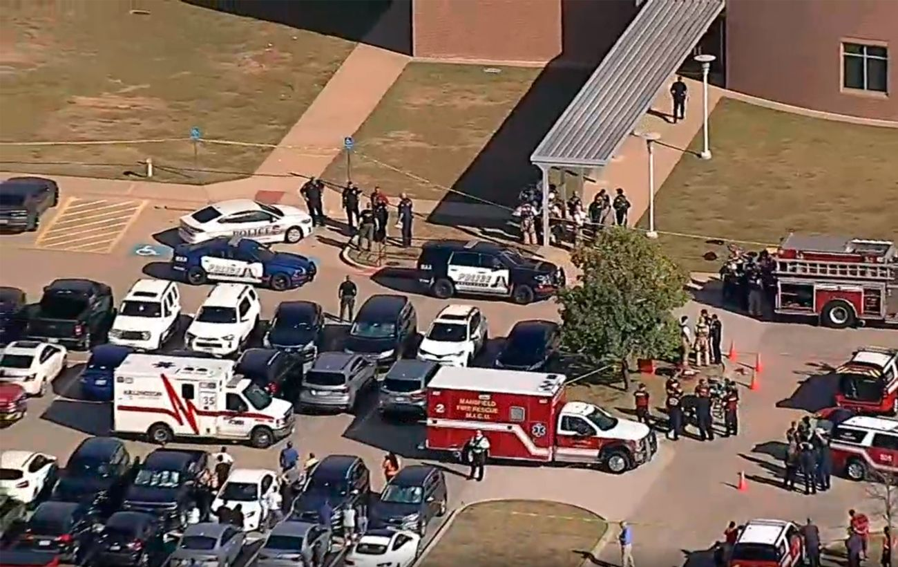 В Техасе произошла стрельба в школе, есть раненые