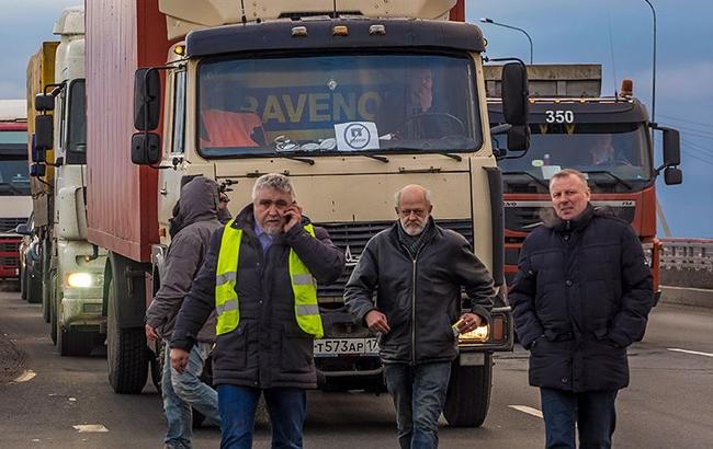 Фото: Российские дальнобойщики