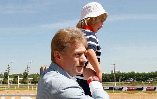 Фото: Мик Песков с отцом