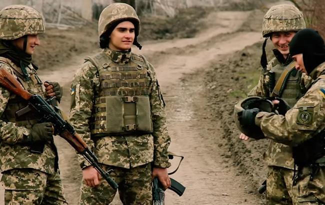 Фото: Украинские морпехи