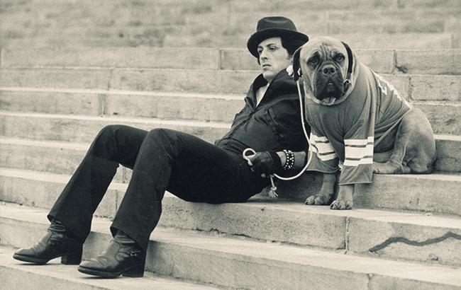 Фото: Сталлоне и Баткас