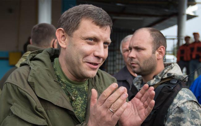 "Фото: Главарь ""ДНР"" Захарченко (112 Украина)"