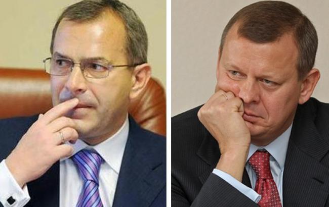 Фото: суд снял арест со 122 млн гривен братьев Клюевых