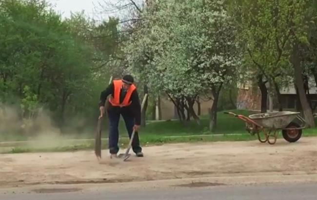 Скриншот из видео (facebook.com/groups/komynalka)