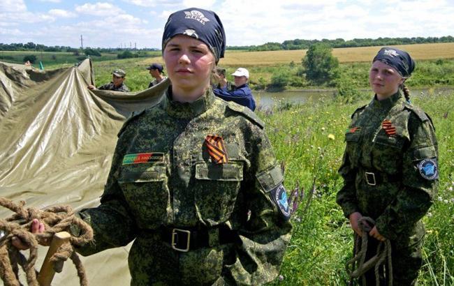 "Фото: Юнаки ""ДНР"" (antifashist.com)"