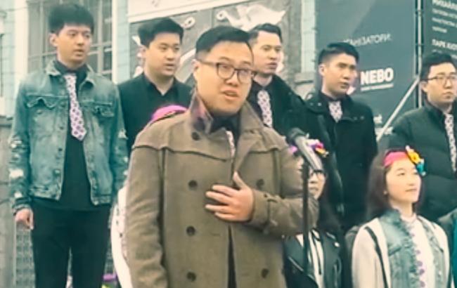Скриншот из видео (facebook.com/MusicVideoUA)
