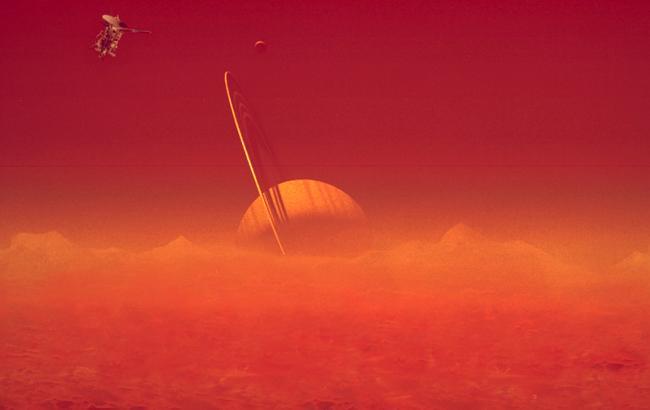 Фото: Супутник Сатурна