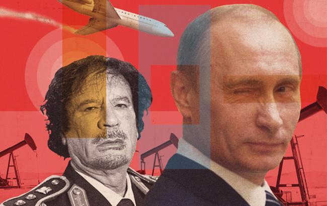 Фото: На думку багатьох експертів, Путін - це другий Каддафі
