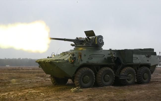 Нацгвардійці отримали чергову партію потужних українських бронетранспортерів
