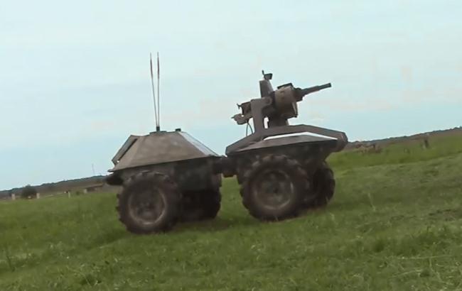 Украинские волонтеры создали беспилотную боевую платформу