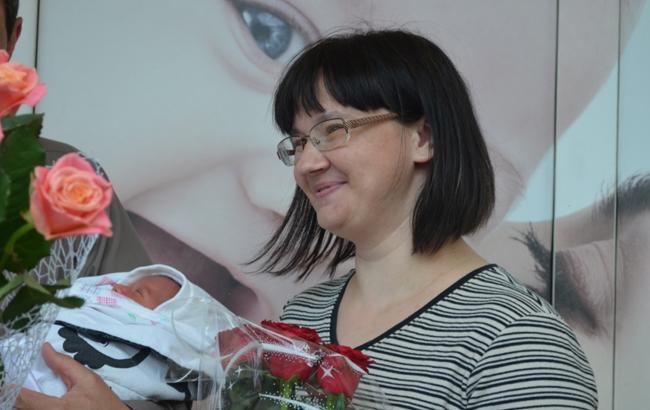 Мать-героиня из Житомира родила двенадцатого ребенка