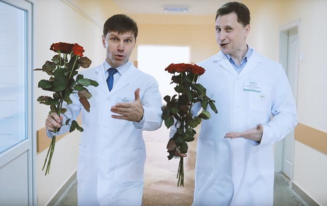 8 березня: чернігівські лікарі креативно привітали жінок зі святом (яскраве відео)