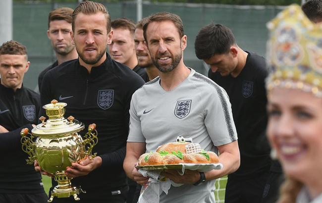Футболісти збірної Англії (фото: twitter.com/MatchTV)
