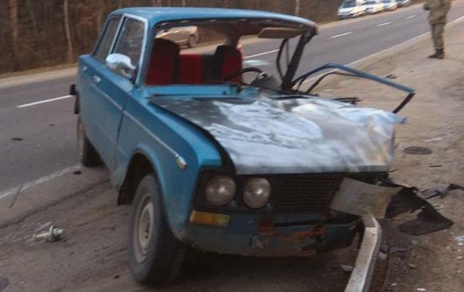 Авария во Львовской области (фото: facebook.com/kpszsu)