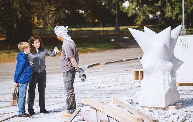 Известные скульпторы представят на ВДНГ свои работы (фото: Kyiv International Sculpture Symposium)