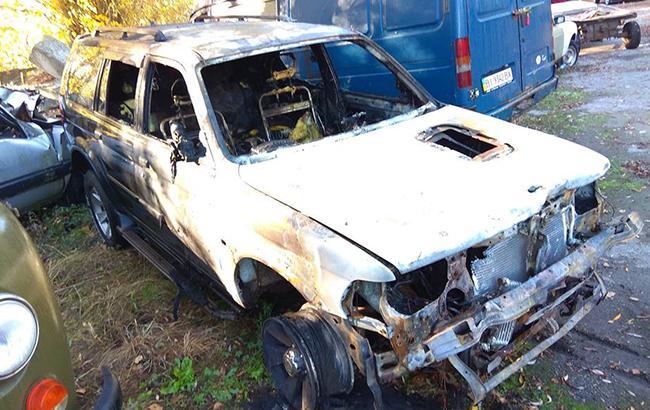 В Глухове ночью сожгли машину активиста, критиковавшего Терещенко и его команду