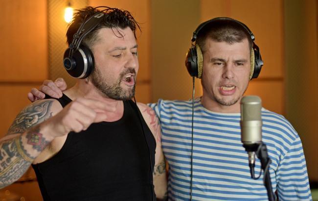 Фото: Станислав Паплинский и Иван Леньо (Пресс-служба проекта #ПісніВійни)