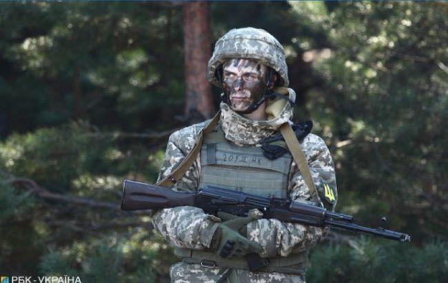Оккупанты стреляли из минометов вблизи Водяного, военный получил боевую травму