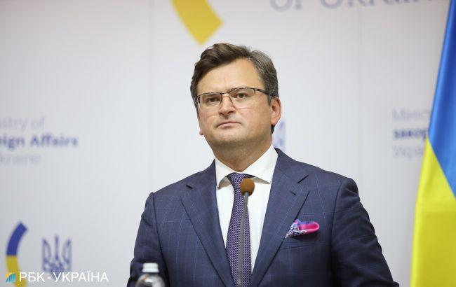 Кулеба: мені сподобалася реакція США на концентрацію військ РФ біля України