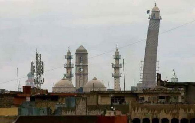 Фото: мечеть Ан-Нурі в Мосулі (twitter.com/iraqi_day)