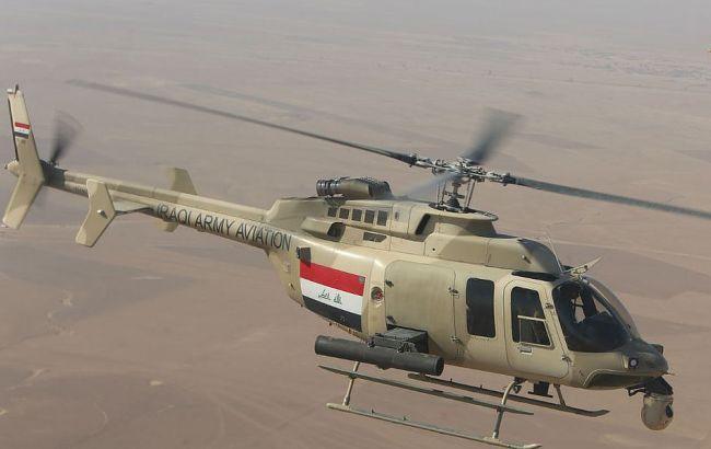 Исламские террористы экстремистской группировки сбили вертолет вИраке