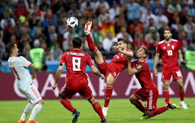 Фото: матч Иран - Испания (www.facebook.com/fifaworldcup)
