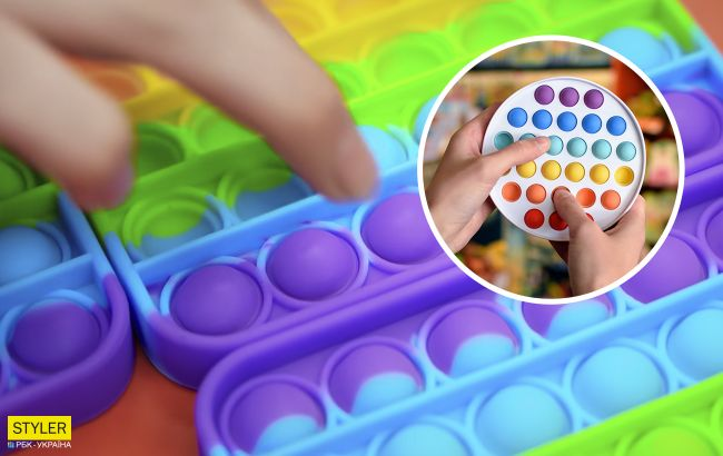 """Эксперты рассказали, безопасны ли трендовые игрушки """"поп ит"""" и """"симпл-димпл"""""""