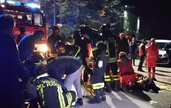 В Италии из-за давки в ночном клубе погибли 6 человек