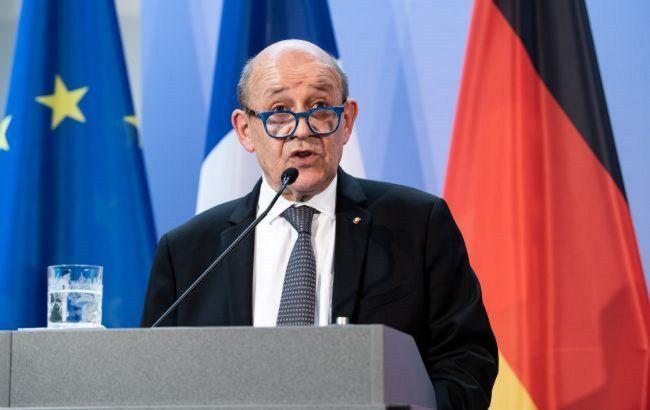 МЗС Франції підкреслило відповідальність Росії за пошук мирного вирішення конфлікту в Україні