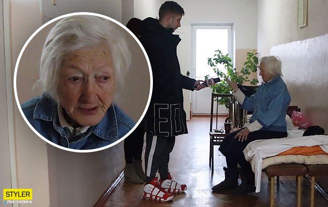 85-летняя женщина из Крыма оказалась в Киеве без документов и крова: что произошло (видео)