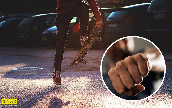 В Виннице толпа подростков избила скейтера: позже трое нападавших записали извинения