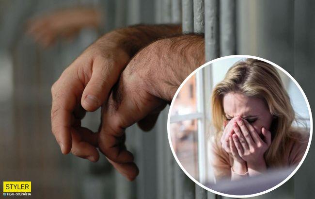 Під Києвом чоловік кілька годин знущався над жінкою: зв'язав, бив і ґвалтував