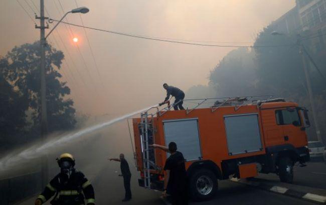 Фото: пожары в Израиле