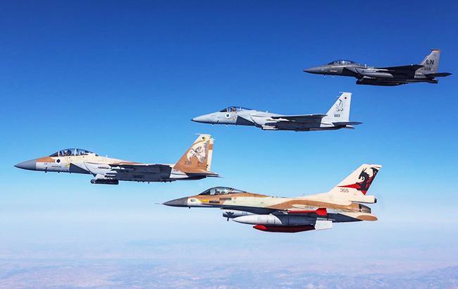 ВПС Ізраїлю завдали 10 ударів по об