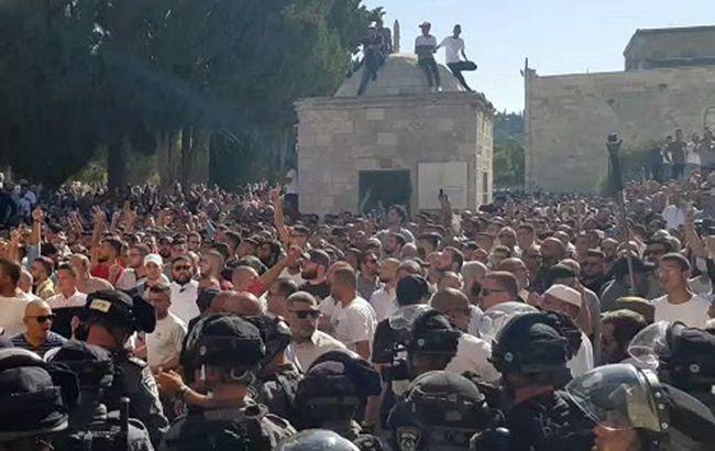 В Ізраїлі під час богослужіння сталися сутички, є постраждалі