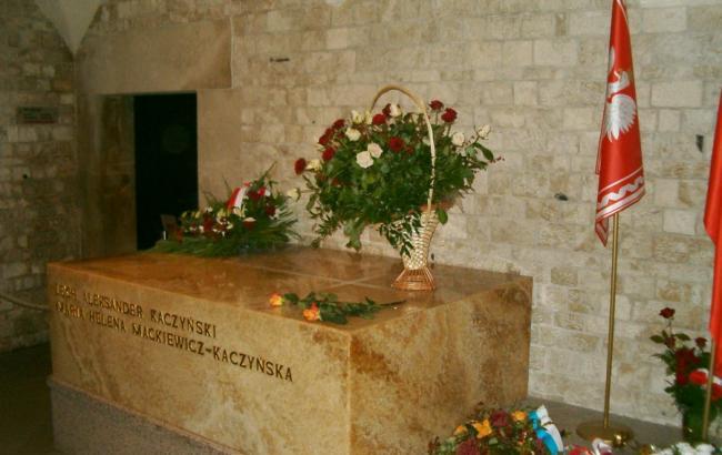 Фото: Лех и Мария Качинские погибли 10 апреля 2010 года под Смоленском