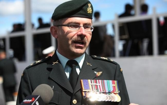 Фото: канадский командующий Пол Винник посетит Украину