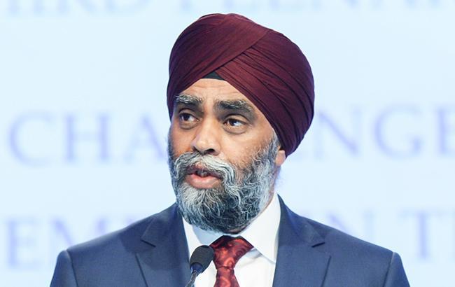 Фото: министр обороны Канады Харджит Сингх Саджан (flickr.com/iiss_org)