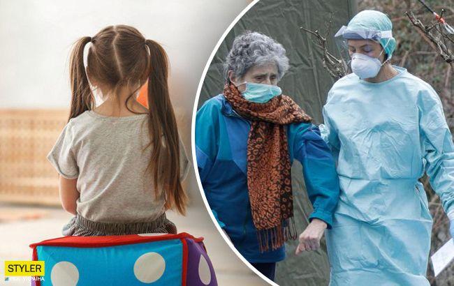 В Украине появились новые очаги вспышки COVID-19: рискуют дети и пожилые
