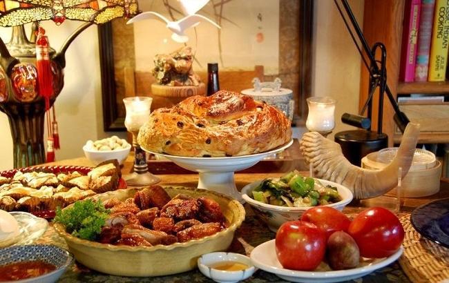 Еврейские салаты на новый год