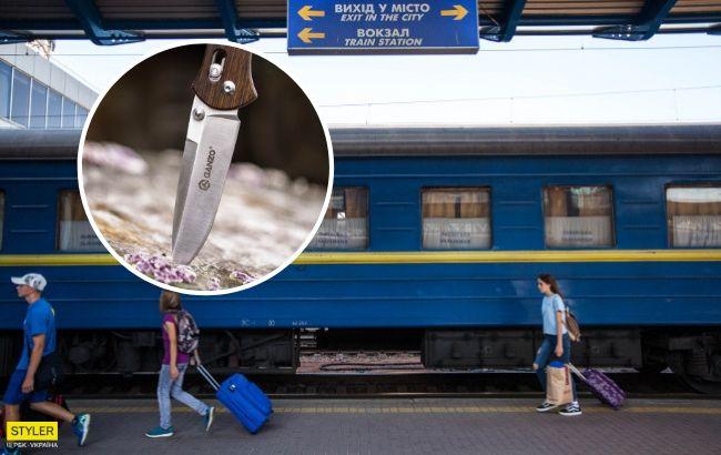 Різанина в поїзді переросла в скандал навколо Укрзалізниці: що сталося (фото)