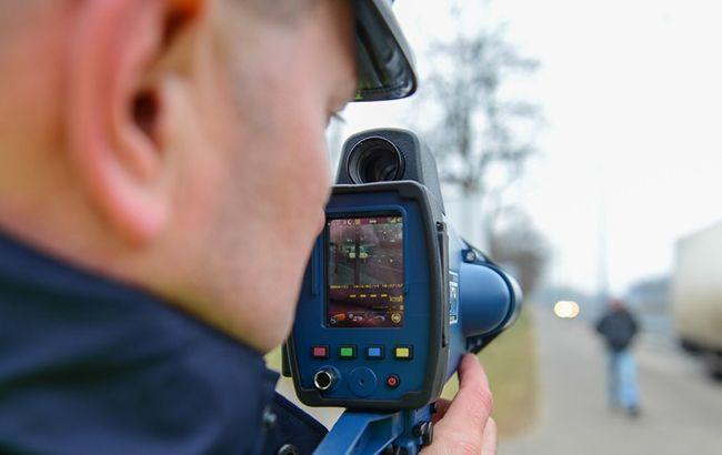 За місяць відеофіксації швидкості накладено штрафів на 2 млн грн, - поліція