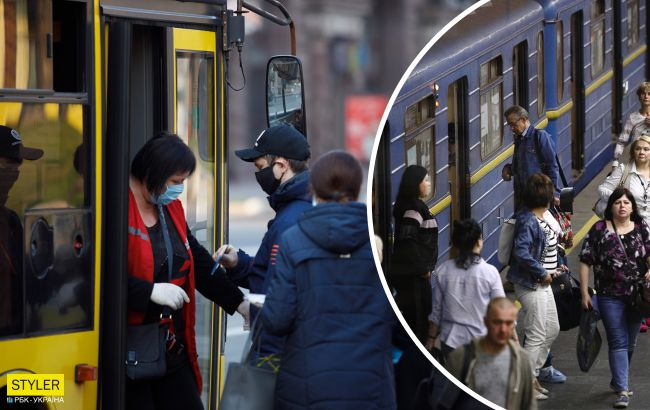 Ослаблення каратнина: як і коли в Україні запустять маршрутки, метро та поїзди