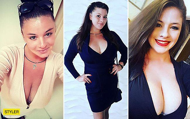 Українка з 11-м розміром грудей подалася в кіно: фото красуні
