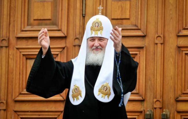 Фото: Патріарх Кирило (VistaNews.ru)