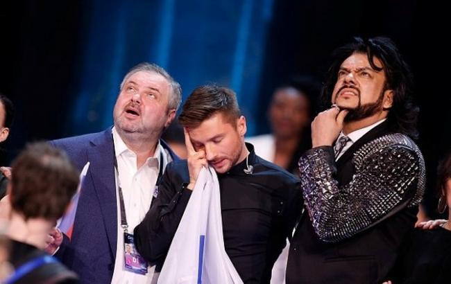 Сергій Лазарєв на Євробаченні 2016