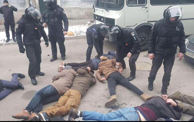 У Києві поліція затримала під час акції 15 осіб
