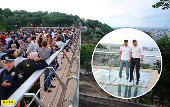 """Безопасный ли """"мост Кличко""""? Киевлянам ответили на важный вопрос"""