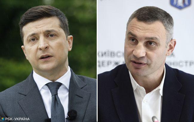 """Самый высокий уровень доверия украинцев у Зеленского и Кличко, - """"Рейтинг"""""""