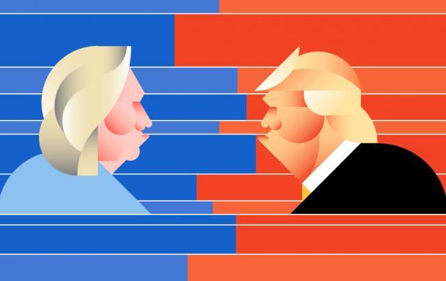 Вибори в США: прогнози на перемогу кандидатів